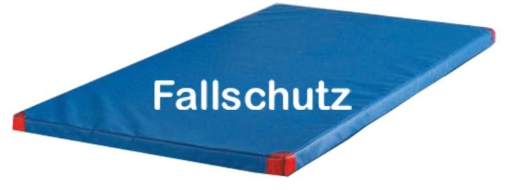 Turnmatte, VB 80, Fallschutz bis 80 cm, 100x200x6 cm