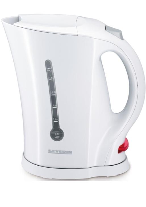 Wasserkocher 1,70 Liter, 2200 Watt, weiß