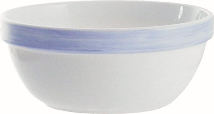 Beilageschale Ø 17 cm Brush BLAU, 0,9 Liter, Höhe 77 mm, stapelbar