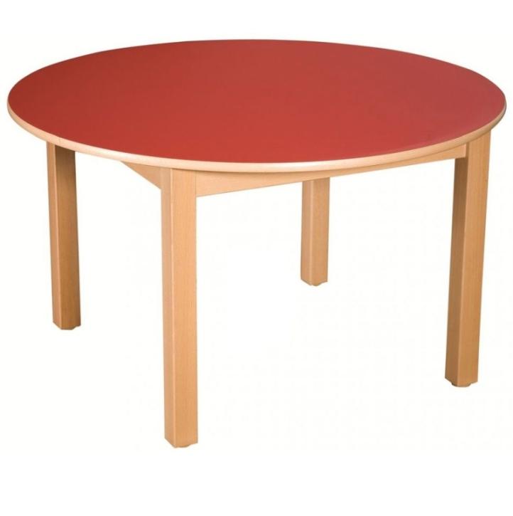 Rund-Tisch Ø 100 cm, Formica-Tischplatte (Variante wählen)