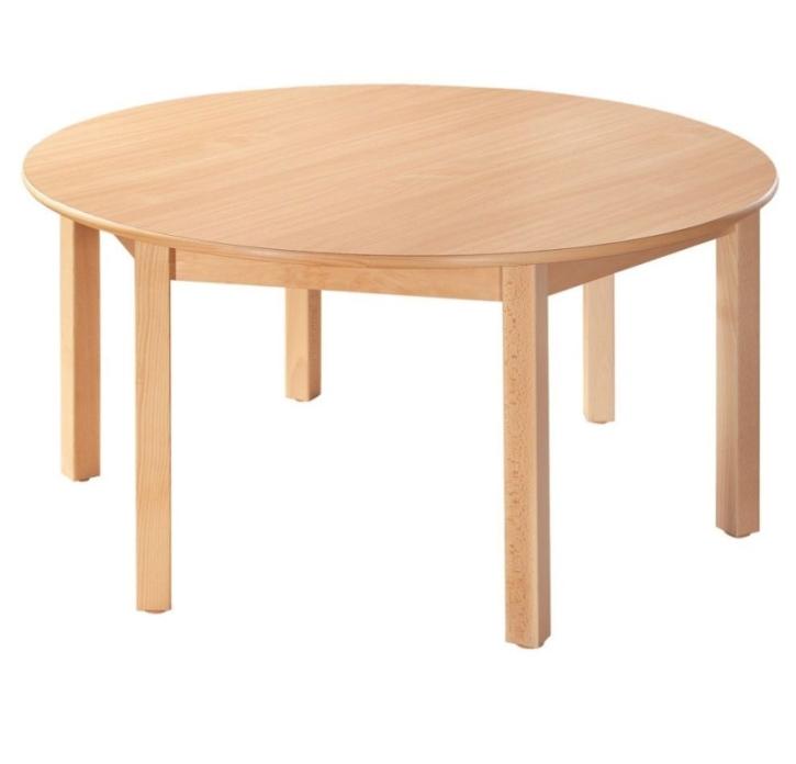 Rund-Tisch Ø 120 cm, Formica-Tischplatte (Variante wählen)