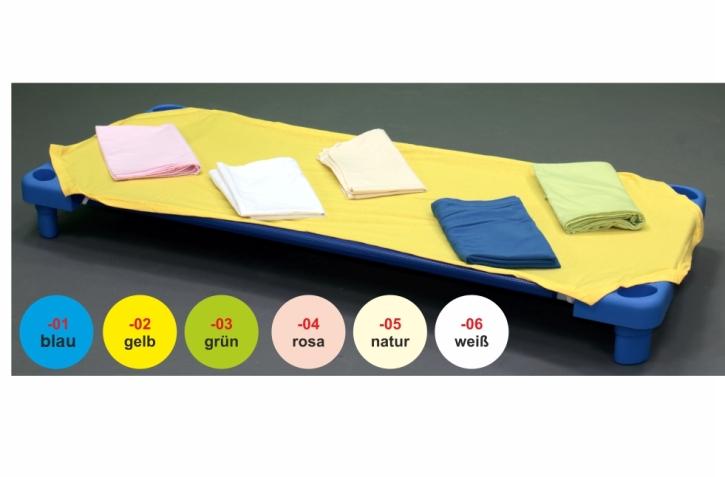 Laken für Kunststoff-Stapelliegen (Größe + Farbe wählen)