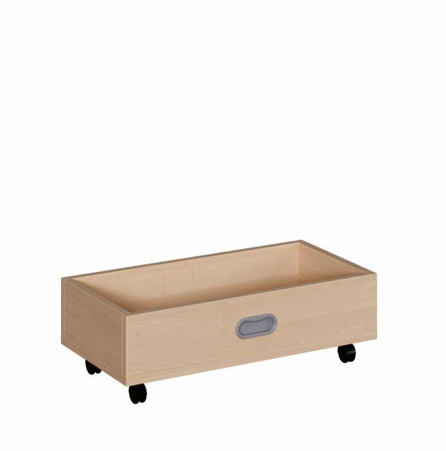 Rollkasten für 24 cm hohe Podeste, B/H/T 62 x 20 x 32 cm
