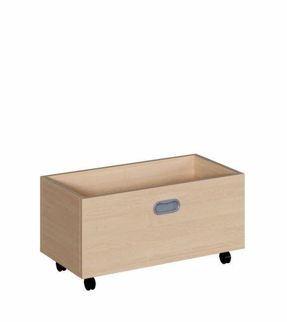 Rollkasten für 35 cm hohe Podeste, B/H/T 62 x 31 x 32 cm