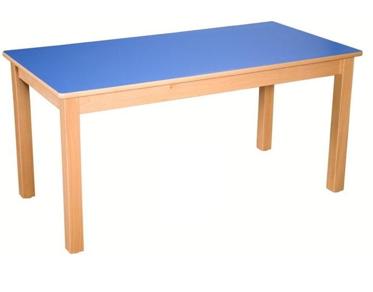 Rechteck-Tisch 120x60 cm, Formica-Tischplatte (Variante wählen)