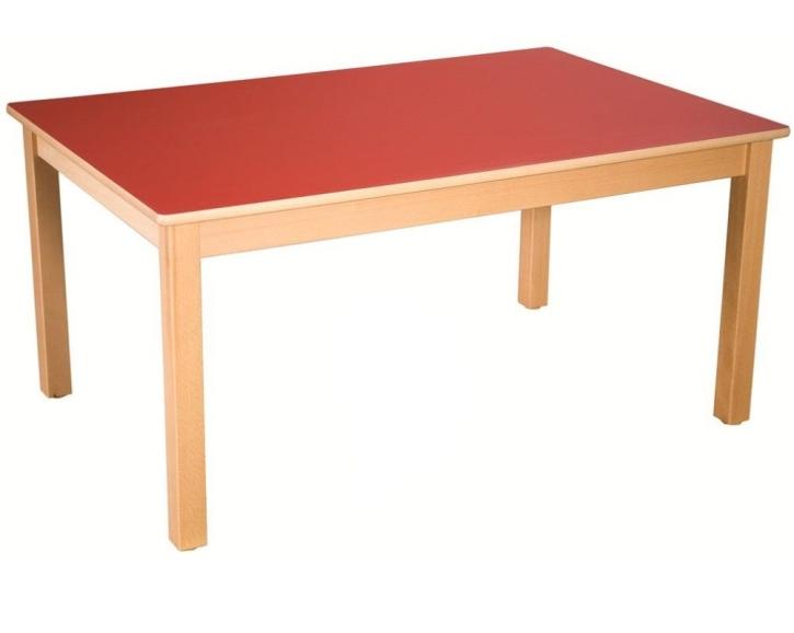 Rechteck-Tisch 120x80 cm, Formica-Tischplatte (Variante wählen)