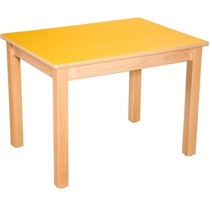 Rechteck-Tisch 80x60 cm, Formica-Tischplatte (Variante wählen)