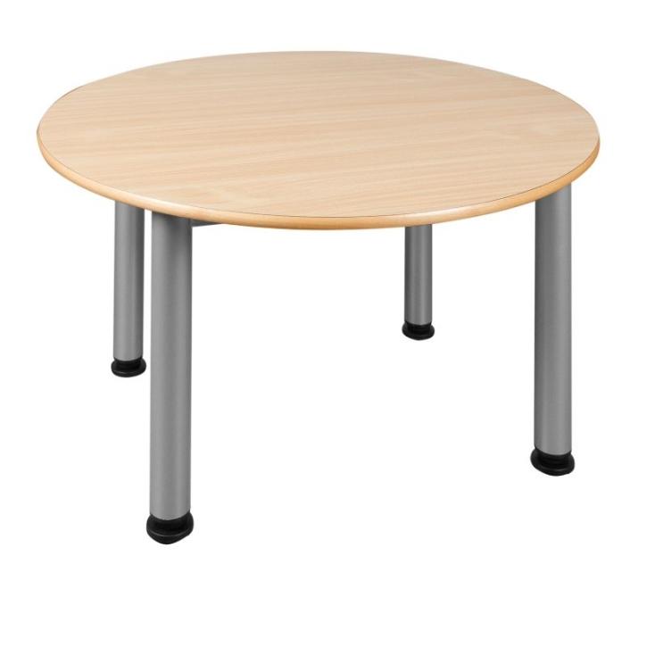 Feststehender Rund-Tisch mit Stahlgestell (Variante wählen)