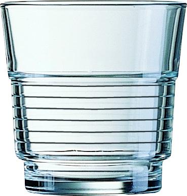 """""""Spirale"""" Stapelglas 0,25 Liter, Ø 82 x H 84 mm"""