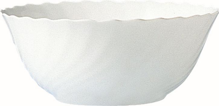 """Hartglas """"Trianon"""" - Salatschale groß 2,50 Liter, stapelbar, Ø 240 x H 96 mm"""