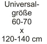 Spannbettlaken Baumwoll-Jersey, Universalgröße 60-70 x 120-140 cm (aus 8 Farben wählen)
