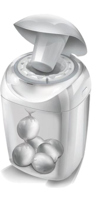 Windeleimer Hygiene Plus - mit Kassettensystem (inkl. 1 Folienkassette)