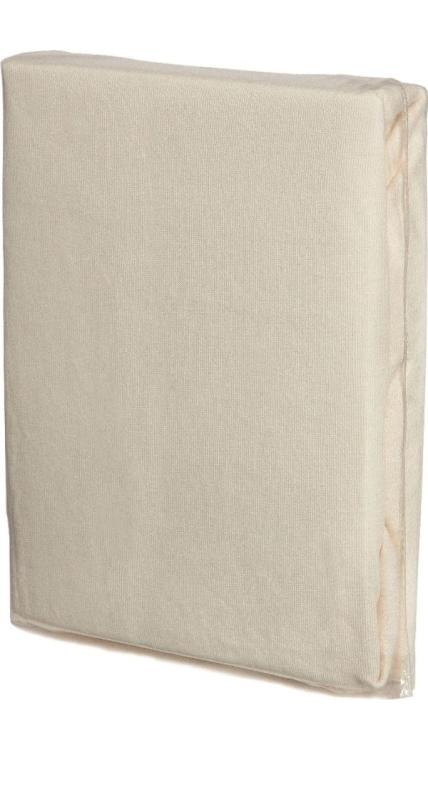 spannbettlaken natur baumwoll jersey universalgr e 60 70 x 120 140 cm 12011. Black Bedroom Furniture Sets. Home Design Ideas