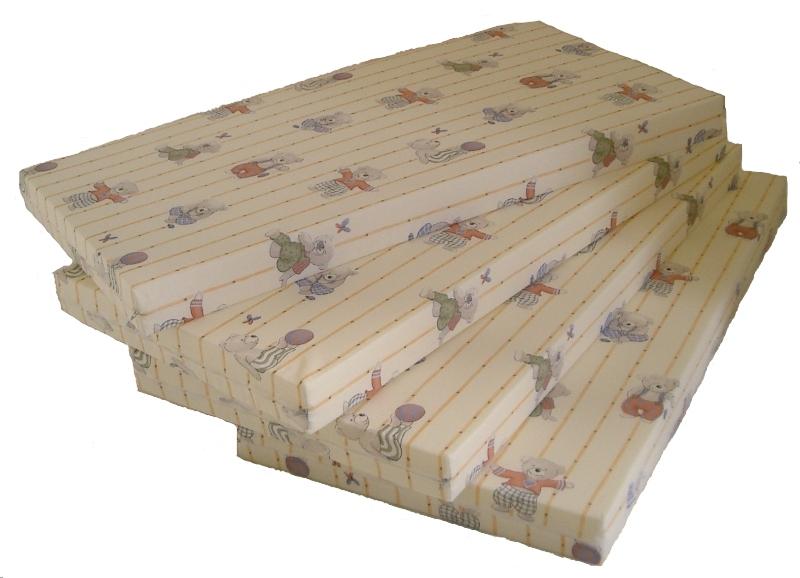 matratze wunschgr e bis 140 x 60 x 8 cm mit 30 grad waschbaren bezug mit kindermotiv 1400k. Black Bedroom Furniture Sets. Home Design Ideas