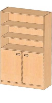 Regalschrank, B/H/T: 102 x 160 x 40 cm