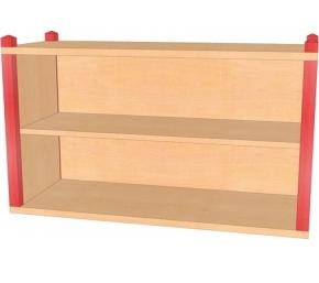 Stollenaufsatz-/hängeregal, B/H/T 106 x 60 x 40 cm