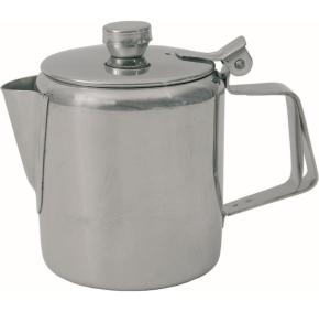 (1+2) Tee- / Kaffeekanne 2,00 Liter, Ø 130 x H 190 mm, Edelstahl