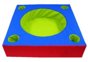 Baby-Ballbecken mit 4 Griffmulden