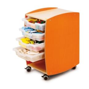 Lernmobil MIT Kunststoffboxen