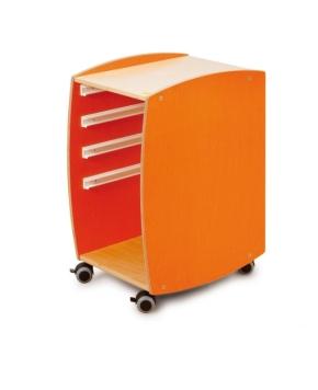 Lernmobil OHNE Kunststoffboxen