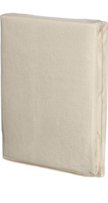 Spannbettlaken NATUR, Baumwoll-Jersey, Universalgröße 60-70 x 120-140 cm