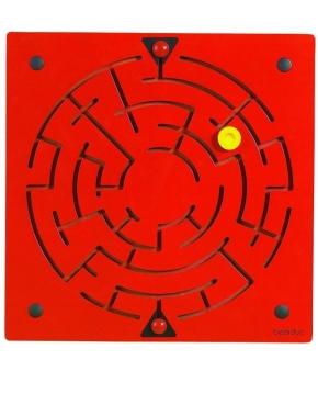 "Wandspielelement ""Labyrinth"" 40 x 40 x 3 cm"