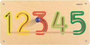 "Wand-Lernelement ""Zahlen 1-5"", 60 x 30 x 5 cm"