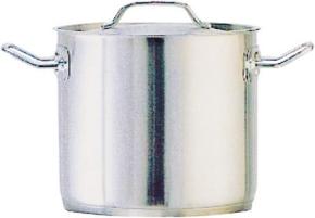 Suppentopf mit Deckel, 6,00 Liter, Ø 20 x H 20 cm, mittelschwere Qualität, NICHT induktionsggeignet