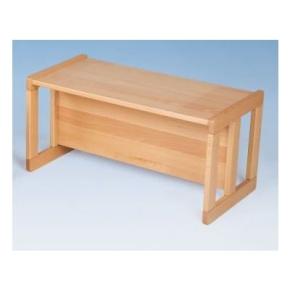 Verwandlungs-Bank mit 3 Sitzhöhen und Tischfunktion in einem
