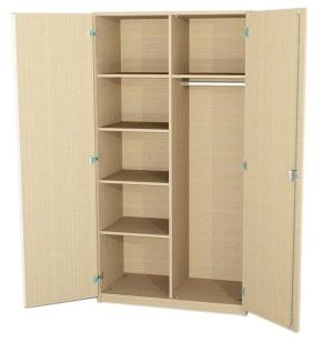 Akten-/Garderobenschrank, 190 cm hoch (Maße wählen)