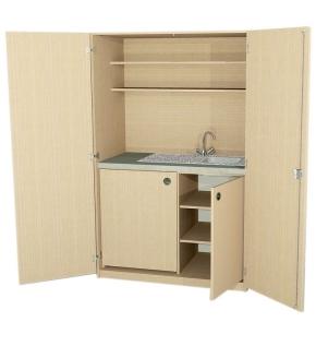 Schrankküche Typ 2, B/H/T: 120 x 190 x 65 cm