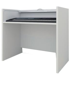 Keyboardtisch, B/H/T: 105×88×55 cm