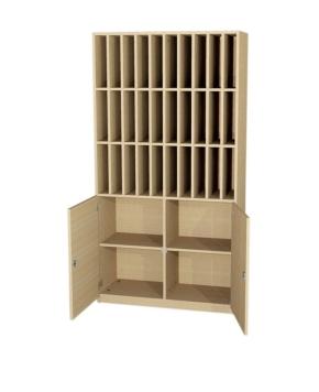 Postfächerschrank, B/H/T: 100×190×40 cm