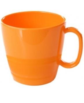 (2) Henkelbecher 230 ml, H 7,6 cm, Ø 8,1 cm (Farbe wählen)