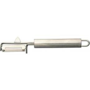 (3) Pendelschäler 19 cm, mit beweglicher Klinge, Hohlgriff mit Aufhängeöse