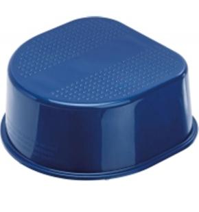 1-Stufen-Schemel, blau