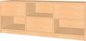 Raumteiler, B/H/T 152 x 60 x 40 cm