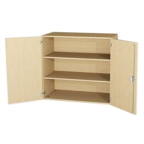 Aufsatzschrank mit 2 Türen, 92 cm hoch (Maße wählen)