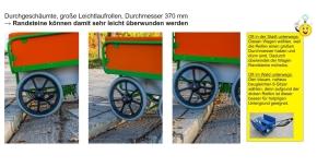 Krippen-Ausflugswagen 6-Sitzer, L 146 x H 95 x B 82, BUNT