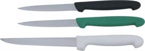 Profi-Universalmesser, Klinge 10 cm, SCHWARZER Kunststoffgriff nach HACCP