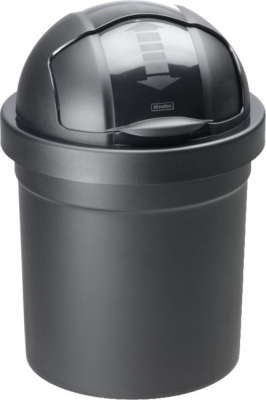 """Kunststoff-Eimer """"Rollbob"""", 30 Liter, Ø 35,5 × H 59,5 cm, SCHWARZ"""