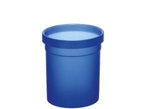 Papierkorb aus Polypropylen, 10 Liter, blau, Ø 25 x H 27,5 cm