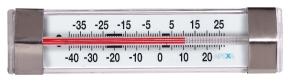 Kühlschrank- / Tiefkühl-Thermometer, analog, -40 bis +25 °C