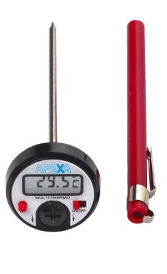 Einstech-Thermometer, digital, -50 bis +150 °C