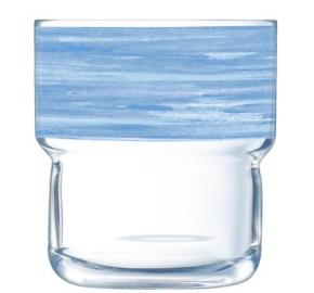 """Brush Log"" Stapelbecher 0,22 Liter, Blau"