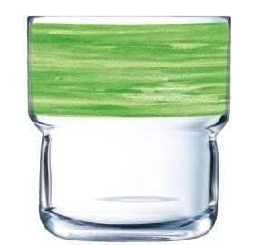 """""""Brush Log"""" Stapelbecher 0,22 Liter, Grün"""