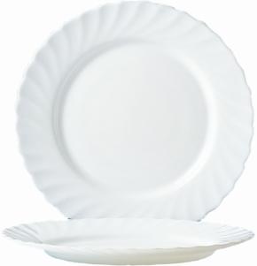 """Hartglas """"Trianon"""" - Mittagsteller / Teller flach groß Ø 27,3 cm, H 25 mm"""