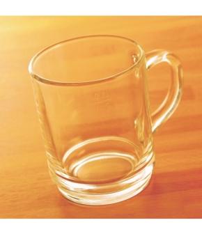 Teeglas stapelbar, 0,20 / 0,25 Liter, Ø 72 x H 89 mm