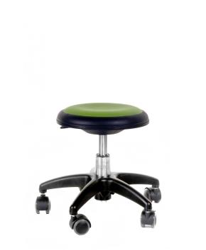 Genito ohne Lehne (= Hocker), 38-48 cm, 049 Kunstleder olive