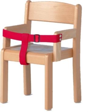 Haltegurt für Armlehnenstühle bis Sitzhöhe 35 cm; NEU: MIT VERSTELLSCHNALLE